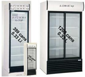Koelkast Koel Kast Glazen Deuren Asogem Equipment